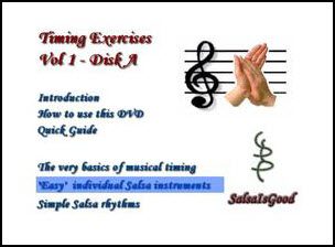 Salsa Timing Exercises