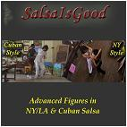 Advanced Figures in NY/LA & Cuban Salsa - Salsa Instructional DVD